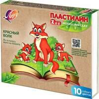 "Пластилин серии ""Zoo"" 10 цветов Луч"