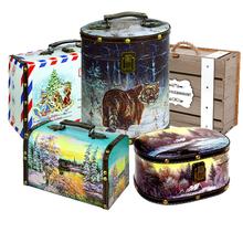Подарки на новый год в деревянных сундуках и шкатулках!